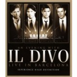Il Divo - An Evening With Il Divo - Live In Barcelona [Blu-ray] [2009]