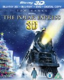 Polar Express 3D (Blu-ray 3D + Blu-ray + DVD + Digital Copy)[Region Free] Blu Ray
