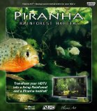 Plasma Art - Piranha Rainforest Habitat [Blu-ray]
