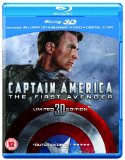 Captain America: The First Avenger (Blu-ray 3D + Blu-ray + DVD + Digital Copy) Blu Ray