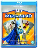 Megamind 3D (Blu-ray 3D + Blu ray + DVD)