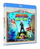 Monsters Vs Aliens 3D (Blu-ray 3D + Blu ray + DVD) Blu Ray