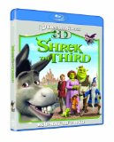 Shrek The Third 3D (Blu-ray 3D + Blu ray + DVD)