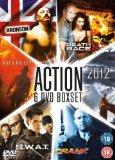 6 Film Box Set: 2012 (2009)/ Backdraft/ Bronson/ Crank/ Death Race 2/ S.W.A.T. [DVD]