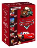 Cars 1, 2 & Cars Toon Maters Tales DVD Gift Set with CD + Book