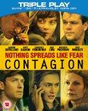 Contagion - Triple Play (Blu-ray + DVD + Digital Copy)[Region Free]