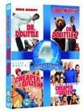 Dr. Dolittle / Dr. Dolittle 2 / Cheaper by the Dozen/ Cheaper by the Dozen 2 [DVD] [1998]