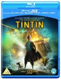 Tintin: Secret Of The Unicorn Blu-ray 3D (Blu-ray 3D + Blu-ray + DVD + Digital Copy)[Region Free]