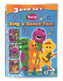 Barney - Sing and Dance Pack (3 DVD set)