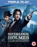 Sherlock Holmes: A Game of Shadows - Triple Play (Blu-ray + DVD + Digital Copy)[Region Free] Blu Ray