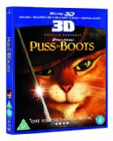 Puss in Boots Blu-ray 3D (Blu-ray 3D + Blu-ray + DVD + Digital Copy) [2012][Region Free]