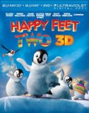 Happy Feet Two (Blu-ray 3D + Blu-ray + DVD + Digital Copy)[Region Free]
