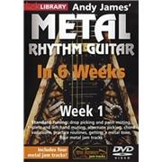 Lick Library: Andy James' Metal Rhythm Guitar In 6 Weeks - Week 1 [DVD]