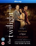 Twilight Saga Quad Pack [Blu-ray]