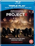 Project X (Extended Cut) - Triple Play (Blu-ray + DVD + Digital Copy)[Region Free]