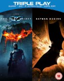 Batman Begins / The Dark Knight - Triple Play (Blu-ray + DVD + Digital Copy) [2005][Region Free]