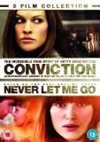 Conviction/ Never Let Me Go Double Pack [DVD] [2010]