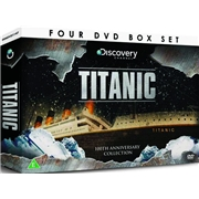 TITANIC 4 DVD Gift Set