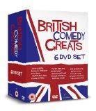 BRITISH COMEDY GREATS 6 DVD Gift Set