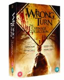 Wrong Turn 1-4: The Carnage Collection [DVD]