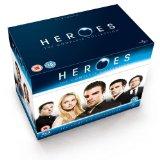 Heroes - Season 1-4 Complete (2012 Repackage) [Blu-ray]