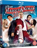 A Very Harold & Kumar 3D Christmas (Blu-ray 3D + Blu-ray + DVD + UV Copy) [2011][Region Free]