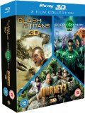 Clash of the Titans/Green Lantern/Journey 2 Box Set (Blu-ray 3D)[Region Free]