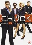 Chuck  - Season 1-5 Complete [DVD]