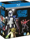 Star Wars  Clone Wars - Season 1-4 [Blu-ray][Region Free]