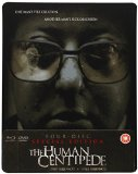 The Human Centipede (First Sequence) + (Full Sequence) 4-disc Special Ltd Edition Dual Format (Blu-ray & DVD) SteelBook
