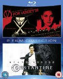 V for Vendetta/Constantine Double Pack [Blu-ray][Region Free]