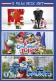 Gnomeo & Juliet / The Smurfs / Despicable Me - Triple Pack [DVD]