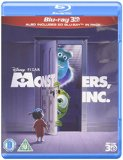 Monsters, Inc. 3D [Blu-ray] [2002][Region Free]