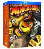 Madagascar 1-3 [Blu-ray] [2005][Region Free]