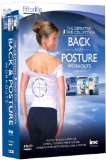 Back Pain & Posture 3 DVD Definitive Box Set - Fit for Life Series - Pilates for Back & Posture, Gymball For Back Pain & Posture and Back Pain & Posture 10 Minute Method Workouts