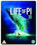 Life of Pi - Limited Edition Steelbook (Blu-ray 3D + Blu-ray + UV Copy)