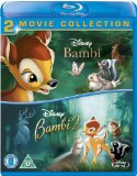 Bambi / Bambi 2 (Double Pack) [Blu-ray] [1993][Region Free]
