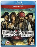 Pirates of the Caribbean: On Stranger Tides (Blu-ray 3D + Blu-ray) [Region Free] Blu Ray