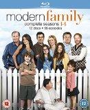 Modern Family - Season 1-4 [Blu-ray]