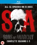 Sons of Anarchy - Season 1-5 [Blu-ray]