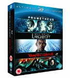 Prometheus / I, Robot / Abraham Lincoln Vampire Hunter Triple Pack (Blu-ray 3D + Blu-ray)