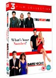 This Means War/Date Night/What's Your Number? [DVD]