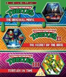 Teenage Mutant Ninja Turtles - The Movie Collection: 3 Disc Set (Teenage Mutant Ninja Turtles/Secret Of The Ooze/Turtles In Time) (Blu-ray)