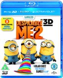 Despicable Me 2 [Blu-ray 3D + Blu-ray + UV Copy] [2013] Blu Ray