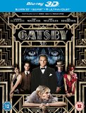 The Great Gatsby [Blu-ray 3D + Blu-ray + UV Copy] [2013] [Region Free]