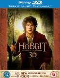 The Hobbit: An Unexpected Journey - Extended Edition [Blu-ray 3D + Blu-ray + UV Copy] [2012] [Region Free]