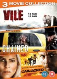 Abduction Triple - Vile/Chained/Carjacked DVD