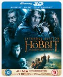 The Hobbit: An Unexpected Journey - Limited Edition Steelbook [Blu-ray 3D + Blu-ray + UV Copy] [2012] [Region Free]