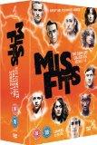 Misfits: Series 1-5 [DVD]