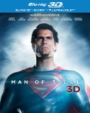 Man of Steel [Blu-ray 3D + Blu-ray + UV Copy] [2013] [Region Free]